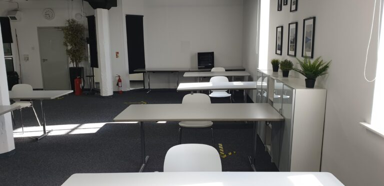 training room from front