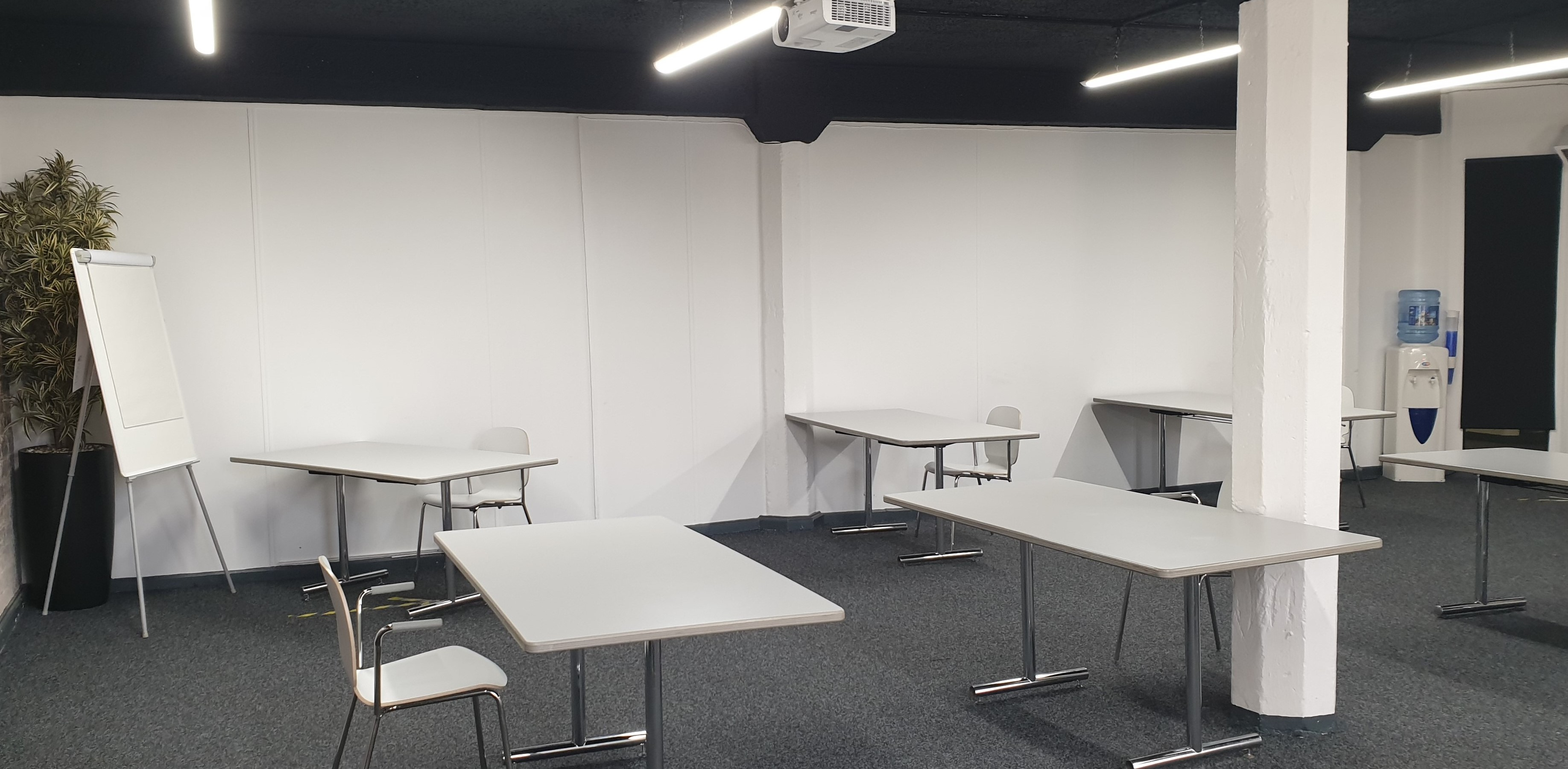 Training Room - a side view